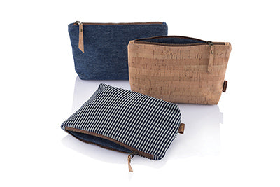 Travel cases made from eco friendly fabrics designed by bambu