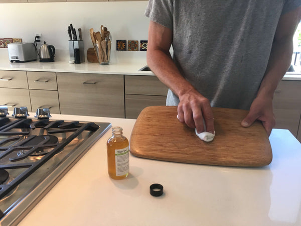 bamboo cutting board care