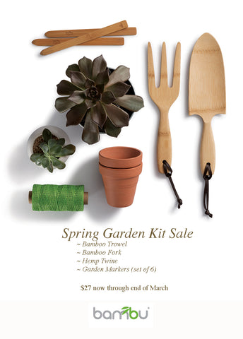 All Natural Garden Tools. Now On Sale.