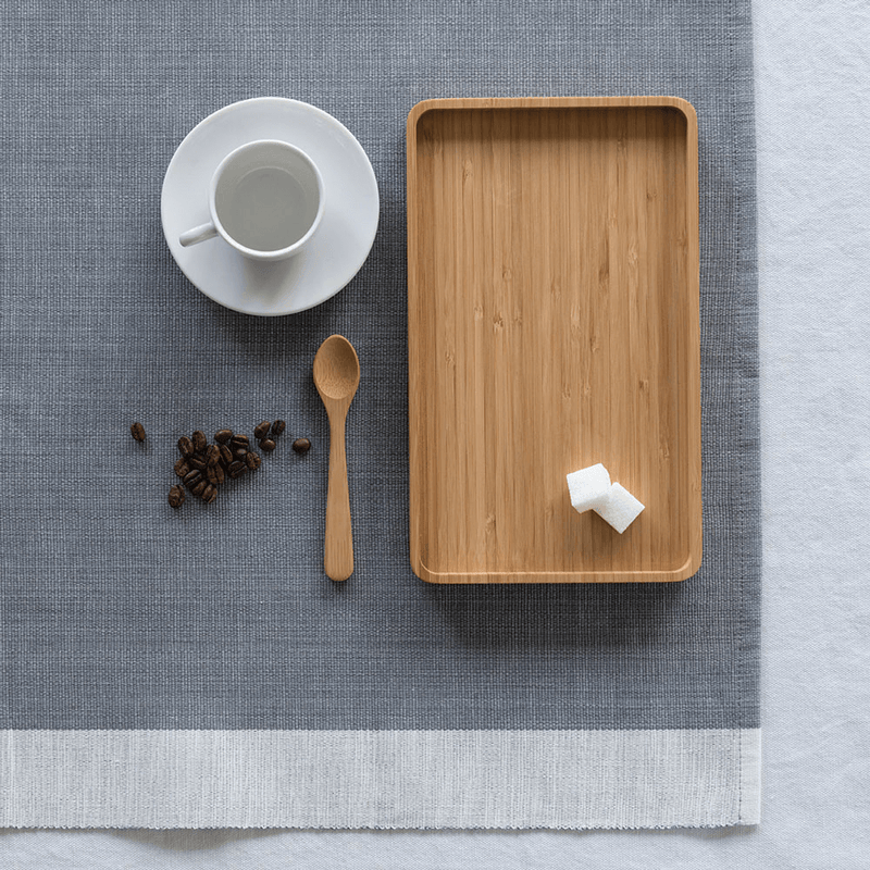 Tea Spoon and tea tray
