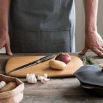 Classic Cutting & Serving Boards with knife - bambu