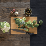 Undercut Series Cutting Boards with broccoli- bambu