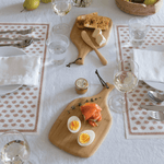 Mini Artisan Cutting & Serving Board serving breakfast - bambu