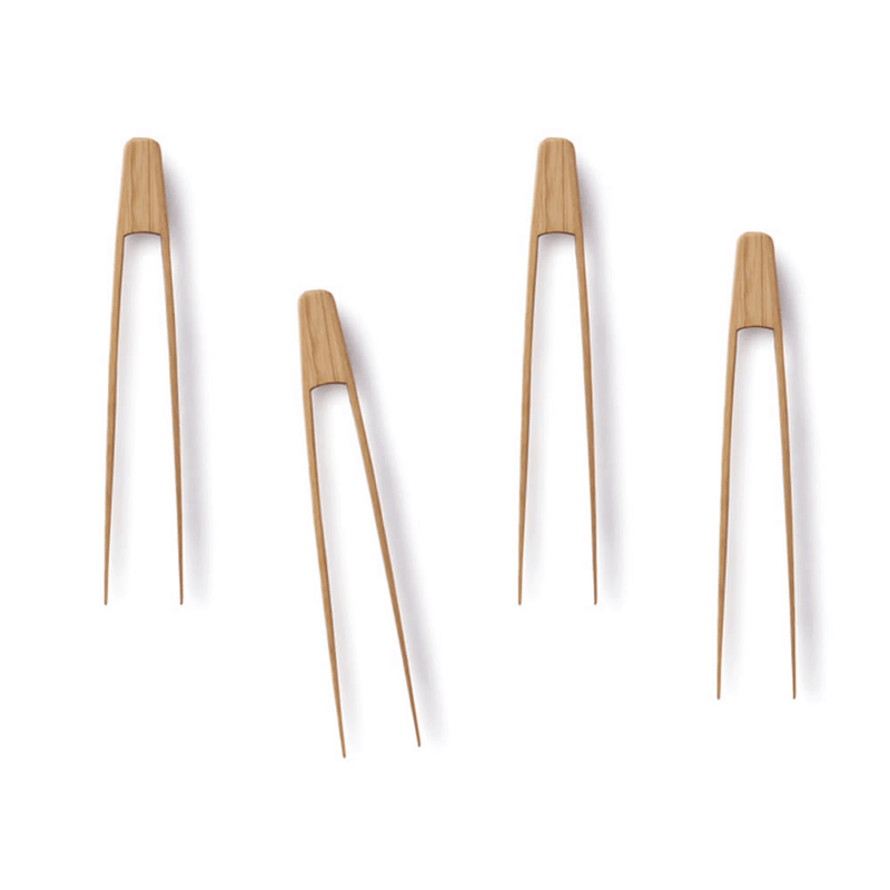 Tiny Tongs (set of 4) - bambu
