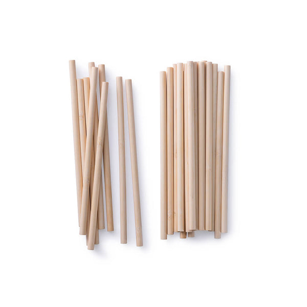 Single Use Bamboo Straws, Bulk Case