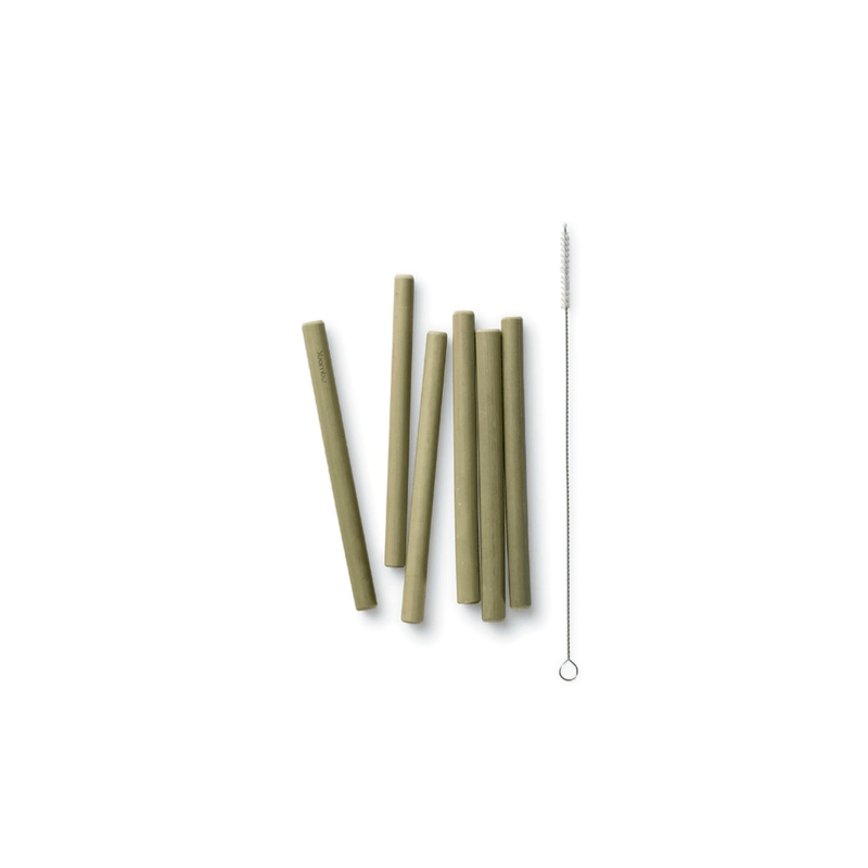 Reusable Short Bamboo Straws