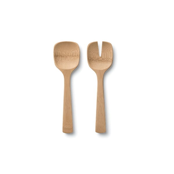 Short Salad Servers - bambu