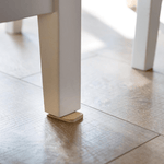 Bamboo Tippy Table Wedge under table leg