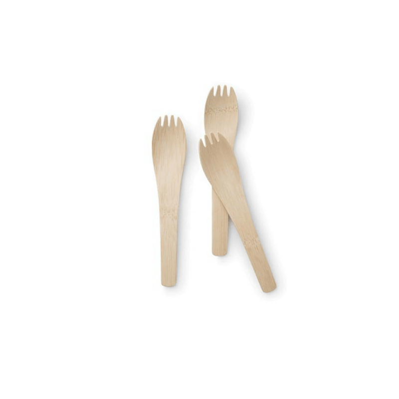 Veneerware® Bamboo Spork with Handle