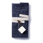 Hemp Denim Apron packaged for a gift