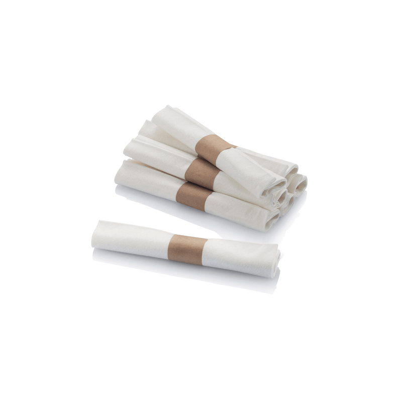 Pre-Rolled Cutlery Sets, case of 50 sets wrapped in napkin