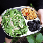 Eco Lunchbox Camping Tray salad and fruit tray
