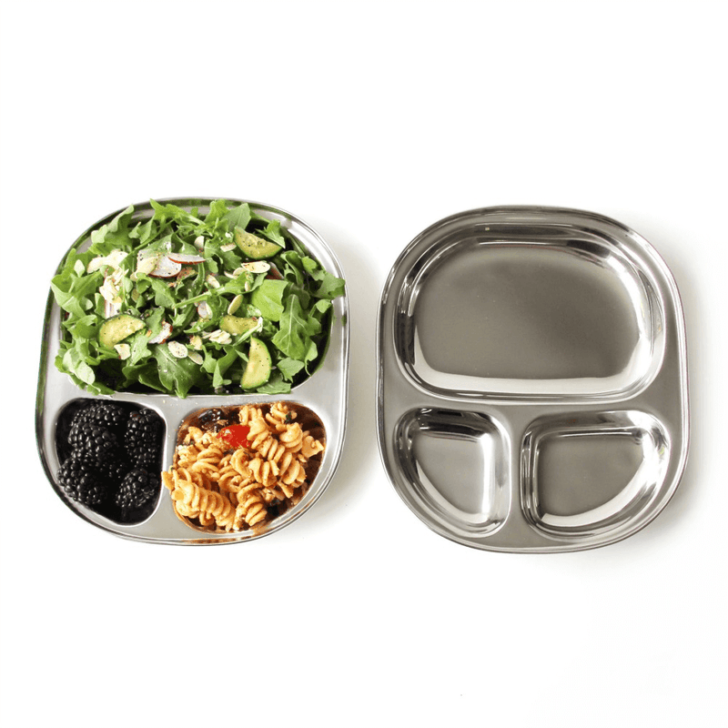 Eco Lunchbox Camping Tray with and without food