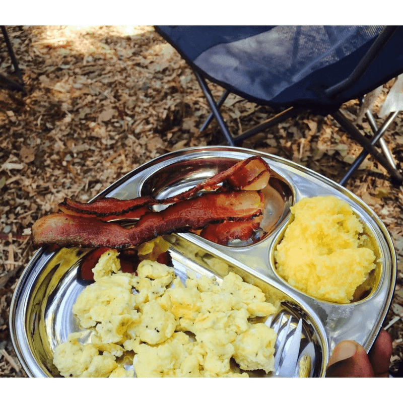 Eco Lunchbox Camping Tray camp breakfast plate