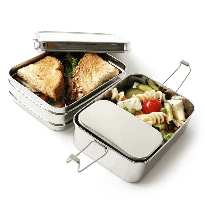 Eco Lunchbox Three-in-One Classic with lunch