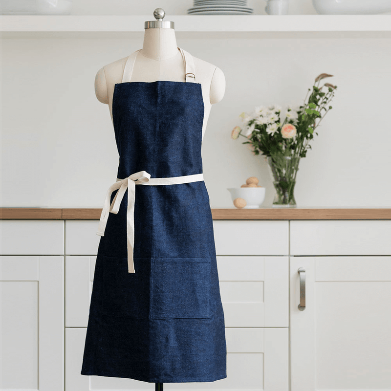 Hemp Denim Apron for men and women