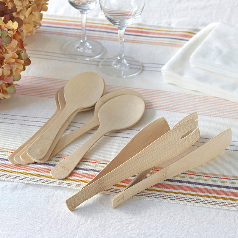 Veneerware® Bamboo Serving Tongs