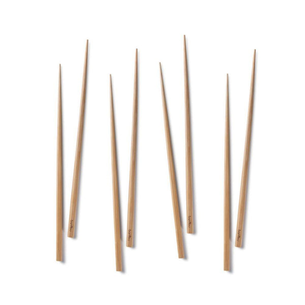 bambu home Disposable Flatware Bamboo Chopsticks (4 sets)