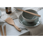Rice Paddle with bowl and chopsticks