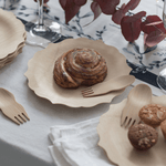 Veneerware® Bamboo Sporks and pastries