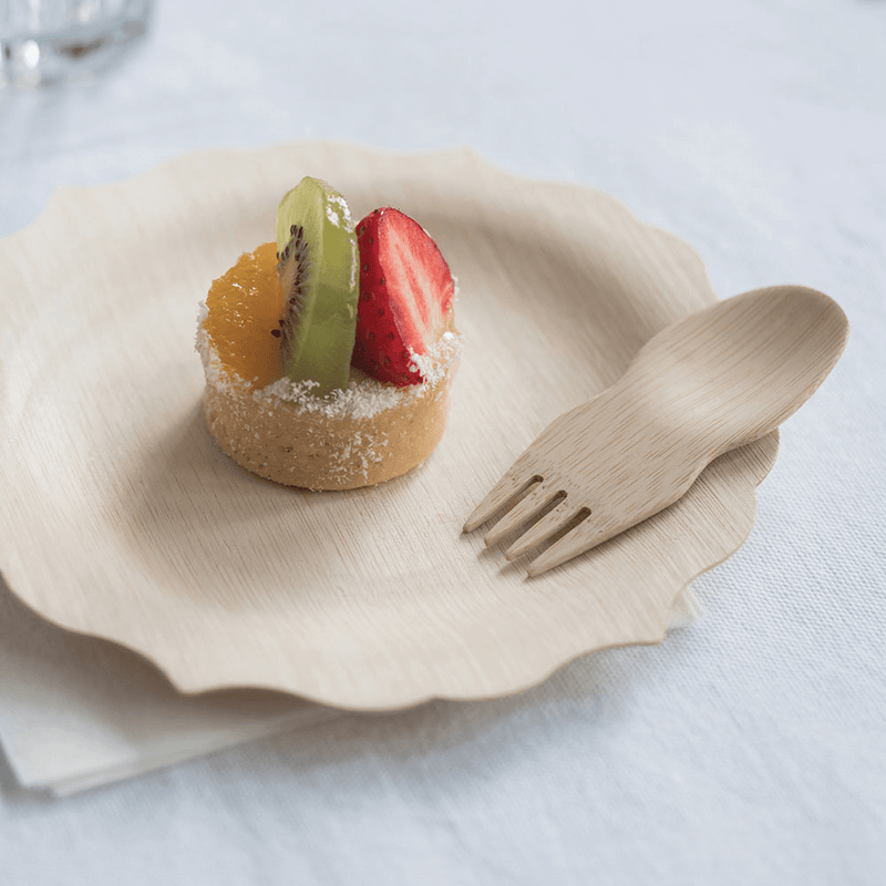 Veneerware® Bamboo Sporks for dessert