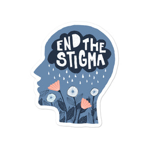 end the stigma sticker