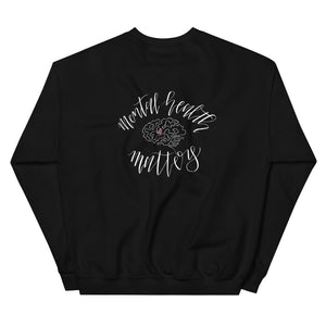 mental health matters (back) pullover