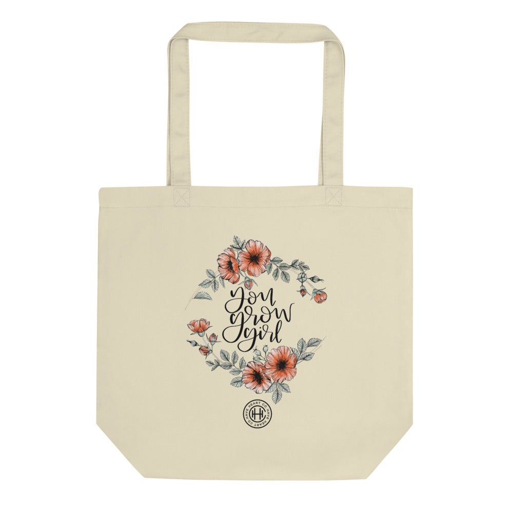 you grow girl tote