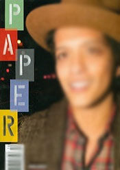 Paper Magazine Ernest Supplies Bruno Mars
