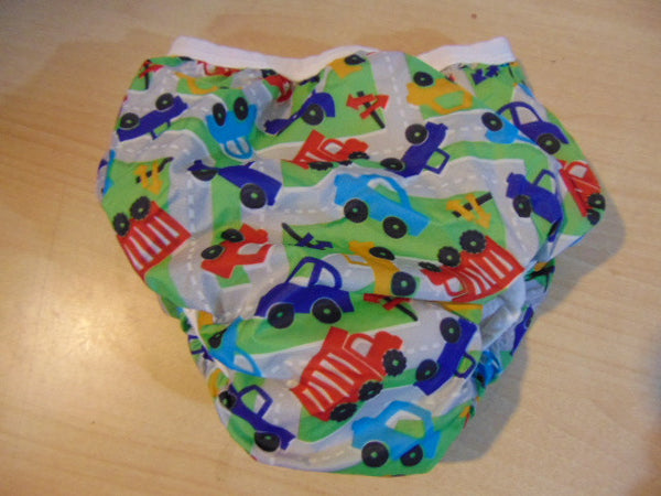 Kushies Potty Small 22-29 LB  Taffeta Waterproof Pull Up Training Pants ALL NEW Traffic Cars