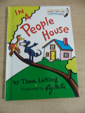 Dr. Seuss In a People House Children's Book