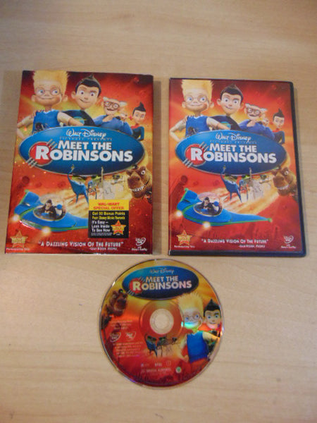 DVD Movie Disney Meet the Robinsons Childrens DVD Movie and Sleeve