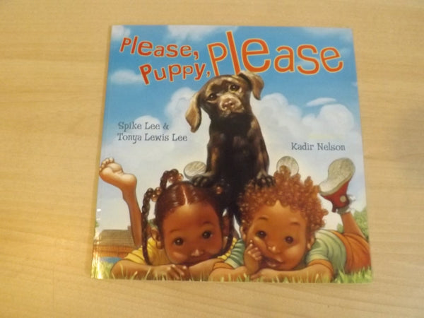 Spike Lee Please, Puppy Please Childrens Softcover Book
