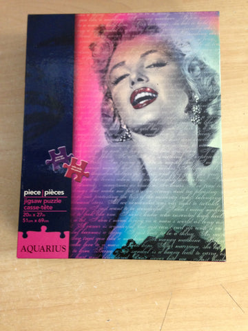 Jigsaw Puzzle 1000 pc Aquarius Marilyn Monroe
