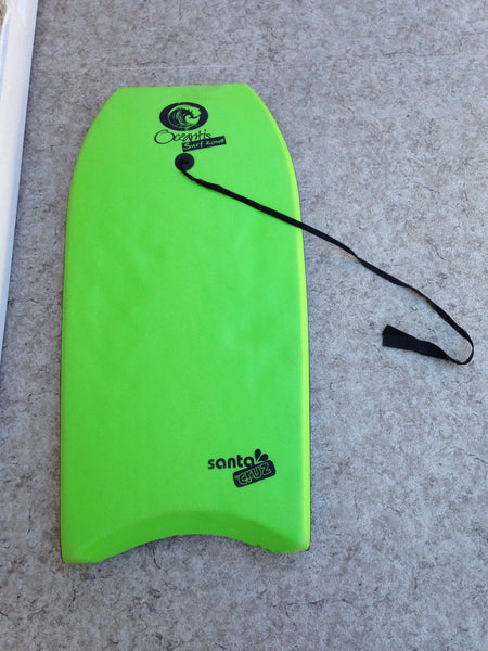 Surf Bodyboard Santa Cruz Skim Boogie With Tow Rope 40 x 20 inch Minor Wear