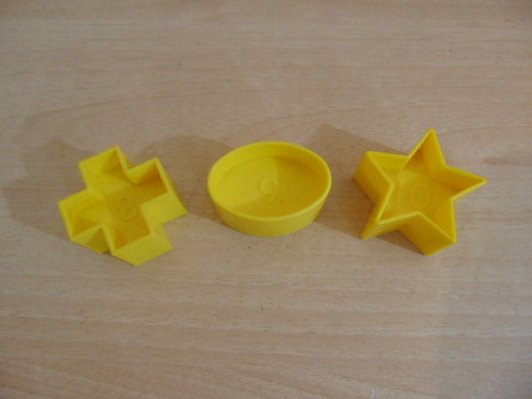 Tupperware Shape O Ball Replacement Parts #8,9,10