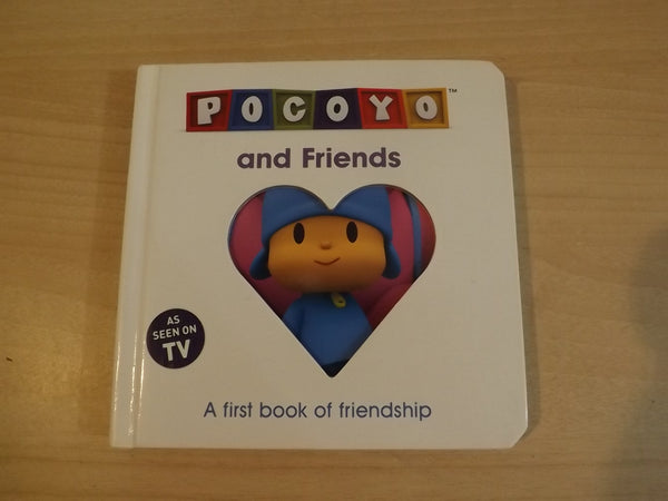 Pocoyo Childrens Board Book As Seen On TV *