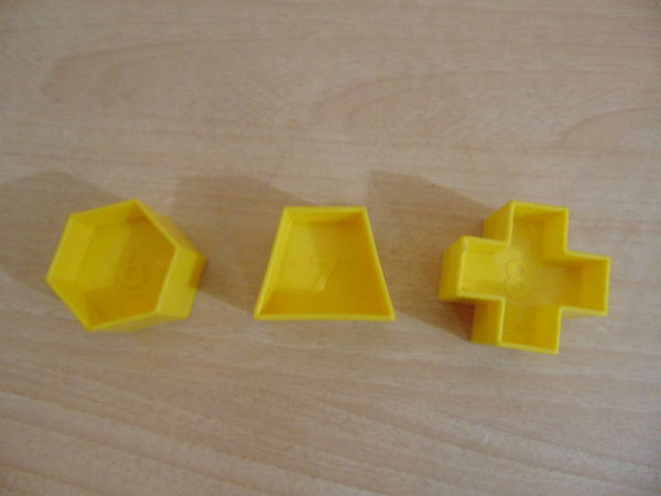 Tupperware Shape O Ball Replacement Parts #6,7,8