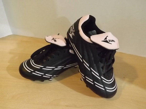 Soccer Shoes Cleats Child Size 13 Zuru Pink White New