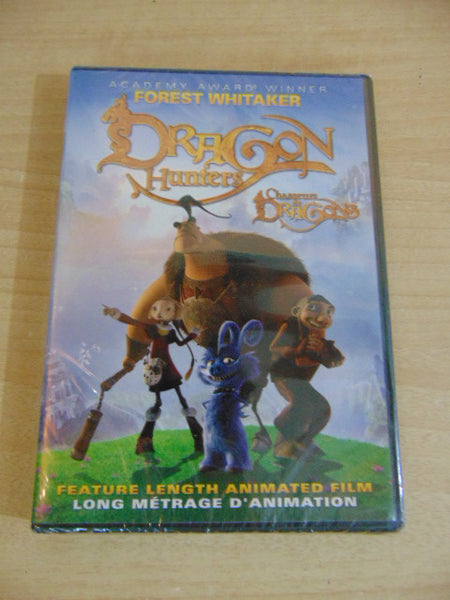 DVD Movie Forest Whitaker Dragon Hunters New Sealed Childrens DVD Movie