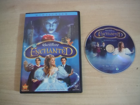 DVD Movie Disney Enchanted Widescreen Childrens