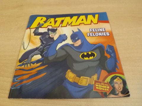 Batman Feline Felonies Childrens Softcover Book
