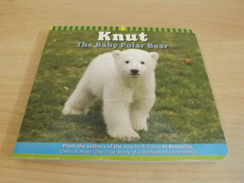 Knut The Baby Polar Bear Childrens Board Book As New