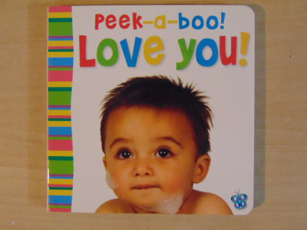 Peek-A-B00  Love You Claire Page  Toddler Board Book