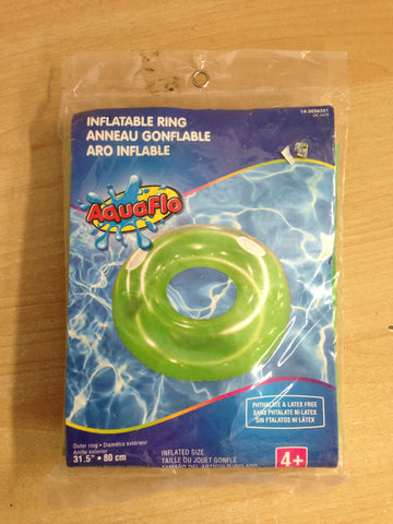 Beach and Pool Inflatable Swim Ring New In Package Large 31.5 inch