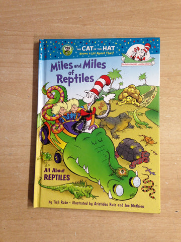Dr. Seuss Miles And Miles Of Reptiles