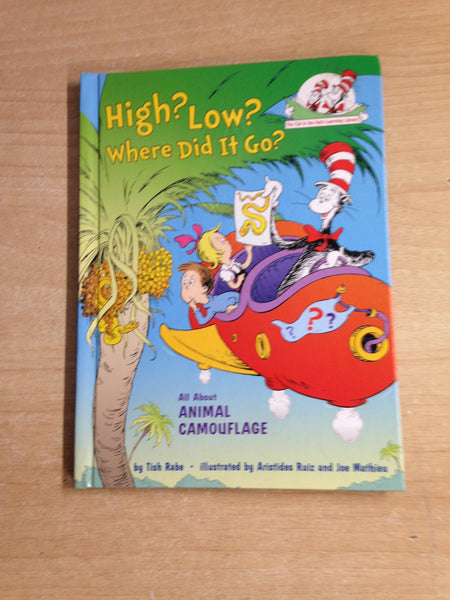 Dr. Seuss High? Low? Where Did You Go?