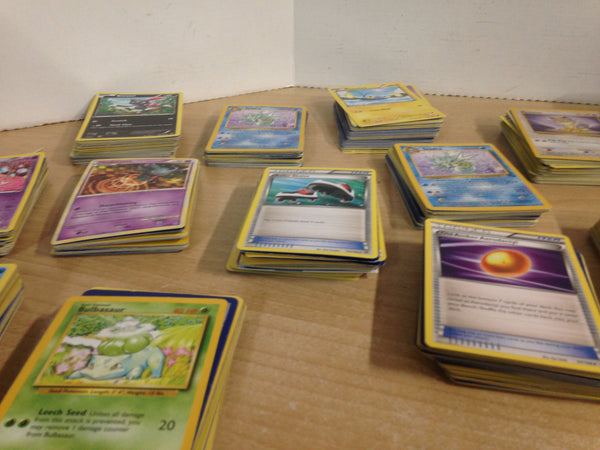 Huge Vintage and Modern Pokemon Cards 1193 in Total