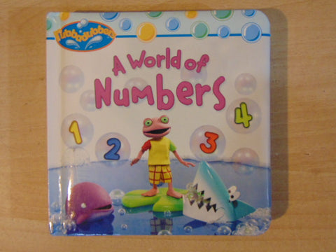 A World of Numbers Toddler Board Book
