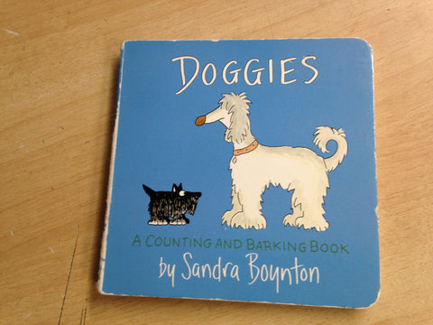 Sandra Boynton Doggies A Count And A Bark Book